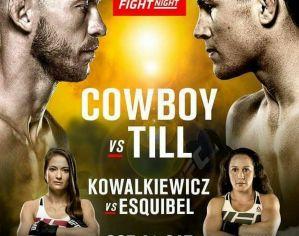 UFC Fight Night 118 Cerrone vs. Till: Gdańsk, 21/10/2017