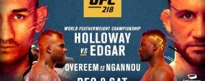 UFC 218 Holloway vs. Aldo 2: Detroit, 02/12/2017
