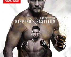 UFC Fight Night 122 Bisping vs Gastelum: Shanghai, 25/11/2017