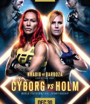 UFC 219 Cyborg vs. Holm: Paradise, 30/12/2017