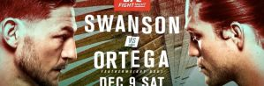 UFC Fight Night 123 Swanson vs. Ortega: Fresno, 09/12/2017