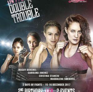 Ladies Fight Night 7: Łódź, 15/12/2017