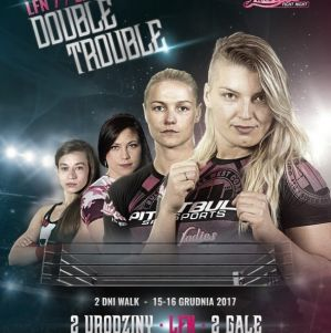 Ladies Fight Night 8: Łódź, 16/12/2017