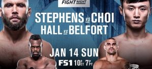 UFC Fight Night 124: Jeremy Stephens nokautuje Choi'a w walce wieczoru! Podsumowanie & Wyniki