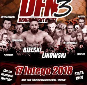 Dragon Fight Night 3 ''Bielski vs Linowski'' - wyniki!