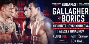 Bellator Kickboxing 9: Budapeszt, 06/04/2018
