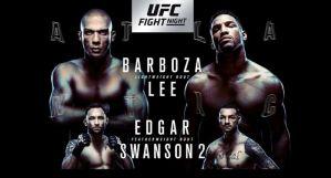 UFC Fight Night 128 Barboza vs. Lee: Atlantic City, 21/04/2018