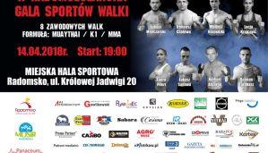 Norbert Anzorge nokautuje na II Radomszczańskiej Gali Sportów Walki! Wyniki