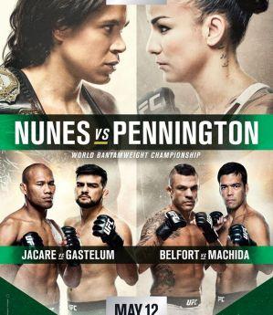 UFC 224 Nunes vs. Pennington: Rio de Janeiro, 12/05/2018