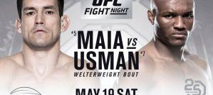 UFC Fight Night 129 Maia vs. Usman: Santiago, 19/05/2018