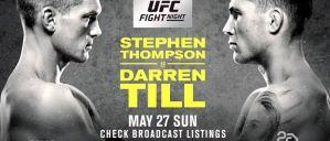 UFC Fight Night 130 Thompson vs. Till: Liverpool, 27/05/2018
