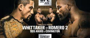 UFC 225 Whittaker vs. Romero 2: Chicago, 09/06/2018