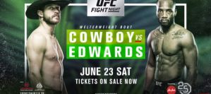 UFC Fight Night 132 Cowboy vs. Edwards: Kallang, 23/06/2018