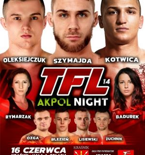 Thunderstrike Fight League 14: Kraśnik, 16/06/2018