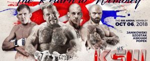 KSW 45 ''The Return to Wembley'': Londyn, 06/10/2018