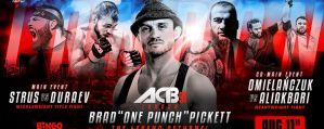ACB 91 Strus vs Duraev: London, 11/08/2018