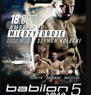 Babilon MMA 5: Międzyzdroje, 18/08/2018