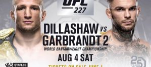 UFC 227 Dillashaw vs. Garbrandt 2: Los Angeles, 04/08/2018