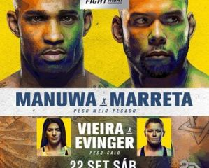 UFC Fight Night 137 Manuwa vs. Santos: Sao Paulo, 22/09/2018