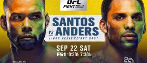 UFC Fight Night 137 Santos vs Anders – wyniki i bonusy!