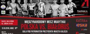 Gala A1 Polska vs Białoruś: Kalisz, 13/10/2018