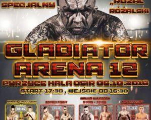 Gladiator Arena 12: Pyrzyce, 06/10/2018