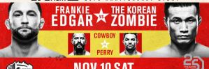 UFC Fight Night 139 Korean Zombie vs. Rodriguez: Denver, 10/11/2018