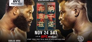 UFC Fight Night 141 Blaydes vs. Ngannou 2: Beijing, 24/11/2018