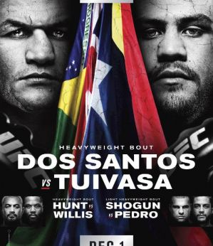 UFC Fight Night 142 dos Santos vs. Tuivasa: Adelaide, 02/12/2018