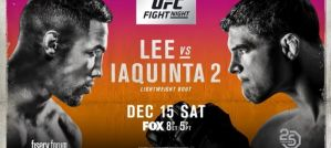 UFC on FOX 31 Lee vs. Iaquinta 2: Milwaukee, 15/12/2018