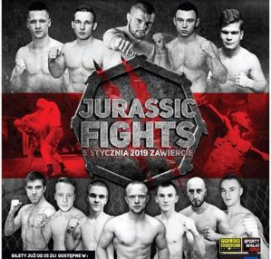 Octagon No Mercy - Jurassic Fights 2: Zawiercie, 05/01/2019
