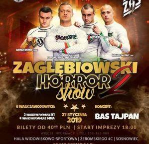 Zagłębiowski Horror Show 2: Sosnowiec, 27/01/2019