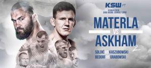 KSW 49 Materla vs Askham 2: Gdańsk, 18/05/2019