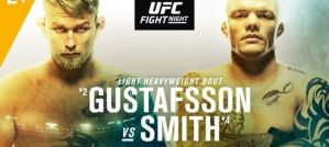 UFC on ESPN+ 11 Gustafsson vs. Smith: Stockholm, 01/06/2019