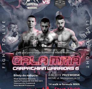 Carpathian Warriors 6: Przeworsk, 08/06/2019
