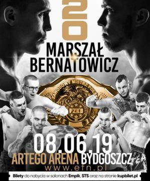 Envio Fight Night 20: Bydgoszcz, 08/06/2019