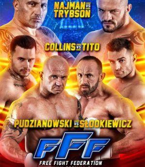 Free Fight Federation 1: Zielona Góra, 08/06/2019