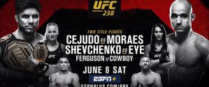 UFC 238 Cejudo vs. Moraes: Chicago, 08/06/2019
