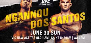 UFC on ESPN 3 Ngannou vs. dos Santos: Minneapolis, 29/06/2019