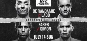 UFC on ESPN+ 13 de Randamie vs. Ladd: Sacramento, 13/07/2019