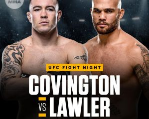 UFC on ESPN 5 Covington vs. Lawler: Newark, 03/08/2019