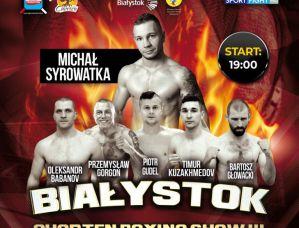 Chorten Boxing Show III: Białystok, 07/09/2019