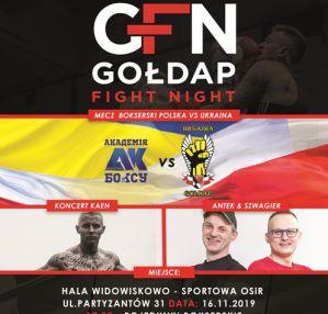 Gołdap Fight Night: Gołdap, 16/11/2019