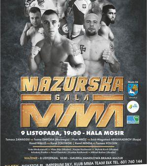 Mazurska Gala MMA: Ełk, 09/11/2019