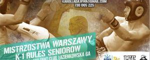 Otwarte Mistrzostwa Warszawy w Kickboxingu 14 - 15 grudnia
