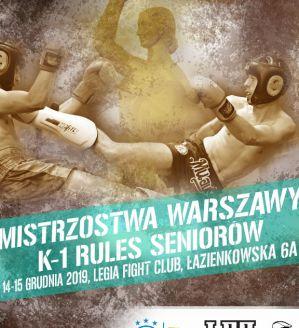 Otwarte Mistrzostwa Warszawy w Kickboxingu: Warszawa, 14-15/12/2019