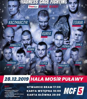 Madness Cage Fighting 5: Puławy, 28/12/2019