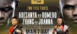 UFC 248 Adesanya vs. Romero: Las Vegas, 07/03/2020