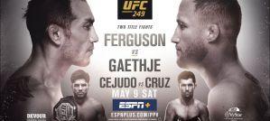 UFC 249 Ferguson vs. Gaethje: Jacksonville, 09/05/2020