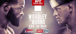 UFC on ESPN 9 Woodley vs Burns: Las Vegas, 30/05/2020